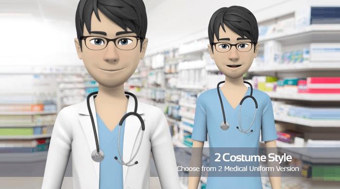 Male - Medical Uniform