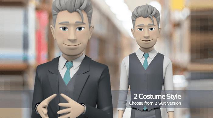Male - Suit Version