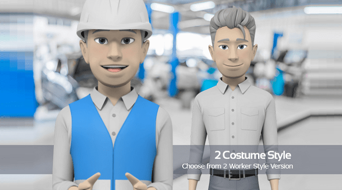 Male - Worker Style Version